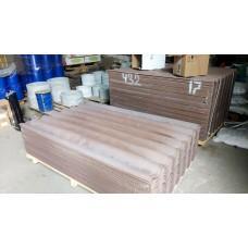 Шифер цветной светло-коричневый (Сухой Лог) 1750*1130*5,2мм