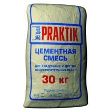 Цементная смесь для кладочных работ Бергауф Практик М-100, 30кг