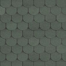 Черепица Шинглас Танго бобровый хвост (зеленый)
