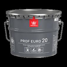 Краска PROF EURO 20 А интерьерная п/мат 9л Тиккурила