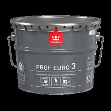 Краска PROF EURO 3 VVA интерьерная глубоко матовая 9л Тиккурила