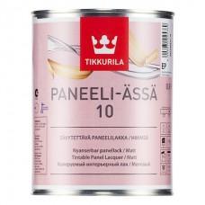Лак интерьерный PANEELI-ASSA 10 EP прозрачный матовый 9,0л Тиккурила