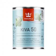 Лак Кива 50 акрилатный для внутренних работ полуглянц, 0,9 л