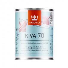 Лак Кива 70 акрилатный для внутренних работ глянц, 0,9 л Тиккурила