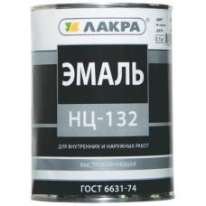 Эмаль НЦ-132 белая 17 кг Лакра