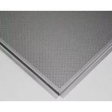 Панель ОС Т24 К90 595х595 металлик3313 с перф. d=2.0 В3 алюм.0,45