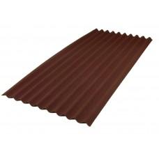 Лист Ондулин SMART 1,95*0,96м, коричневый