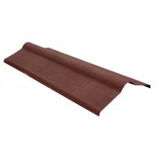 Коньковый элемент Ондулин, коричневый