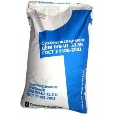Цемент ПЦ 400 Д20 (II/A-Ш 32.5 Б) Сухой Лог, 50кг