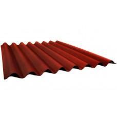 Лист Ондулин SMART 1,95*0,96м, красный