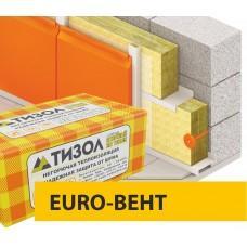 Базальтовая вата Тизол EURO-ВЕНТ, 70кг/м3 (1000x600x100x4)
