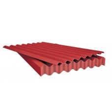 Лист асбоцементный (шифер) волновой красный 1750*1130*5,2мм