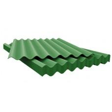 Лист асбоцементный (шифер) волновой зеленый 1750*1130*5,2мм