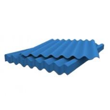 Лист асбоцементный (шифер) волновой синий 1750*1130*5,2мм