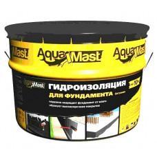Мастика битумная AquaMast для фундамента (10 кг) ТехноНиколь
