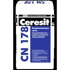Стяжка выравнивающая Церезит CN178 5-80мм, 25кг