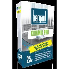 Клей для плитки и керамогранита Бергауф Керамик Про усиленный, 25кг