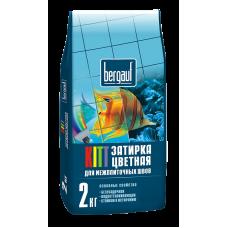 Затирка для межплиточных швов Бергауф Китт карамель, 2кг
