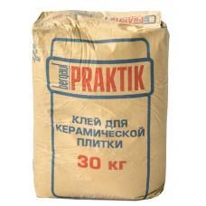 Клей для плитки Бергауф Практик, 30кг