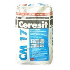 Высокоэластичный клей для плитки Церезит СМ17, 5кг
