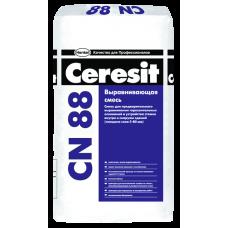 Высокопрочная стяжка для пола Церезит CN88, толщ. 5-50мм, 25кг