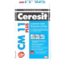 Клей для плитки Церезит CM11 Плюс, 25кг