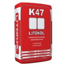 Клей для плитки Литокол К47 для внутренних работ, 25кг