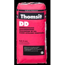 Смесь самовыравнивающаяся Томзит DD цементная 0,5-5мм, 25кг