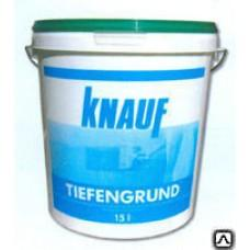 Грунтовка Кнауф Тифенгрунд для гигросокпичных оснований, 10кг