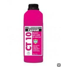 Пропитка Церезит СТ10 противогрибковая гидрофобизирующая, 1л