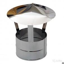 Зонт колпак 390*390 RAL 3005 винно-красный