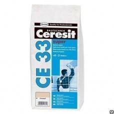 Затирка Церезит CE33 Супер №01 (белый) 2-5мм, 2кг
