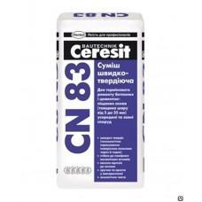 Смесь Церезит CN83 для быстрого ремонта бетона 5-35мм, 25кг
