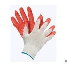 Перчатки трикотажные латексные облитая ладонь, пар