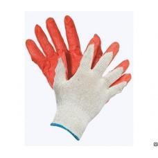 Перчатки х/б с нейлоном латексные облитая ладонь, пар