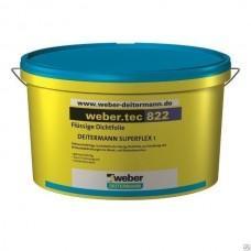 Гидроизоляционная полимерная мастика Вебер.тек 822 розовый, 24кг