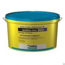 Гидроизоляционная полимерная мастика Вебер.тек 822 серый, 24кг
