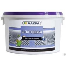 Шпаклевка Лакра масляно-клеевая, ведро 1,5кг