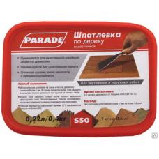 Шпаклевка по дереву Парад S50 орех, 0,4кг