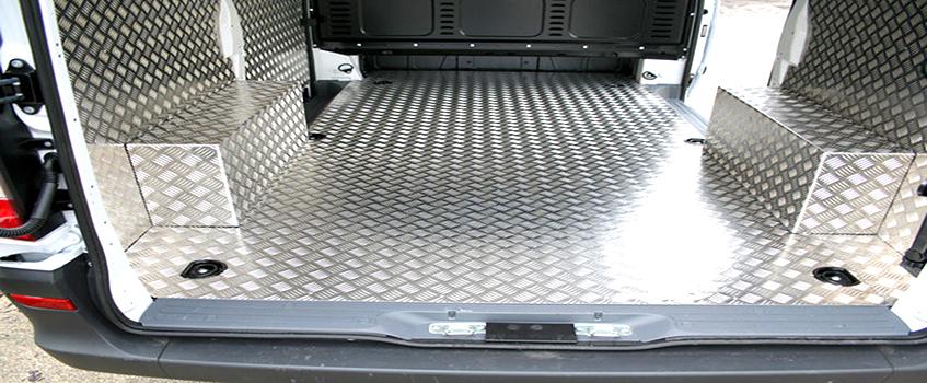 Применение Листа алюминиевого рифленого