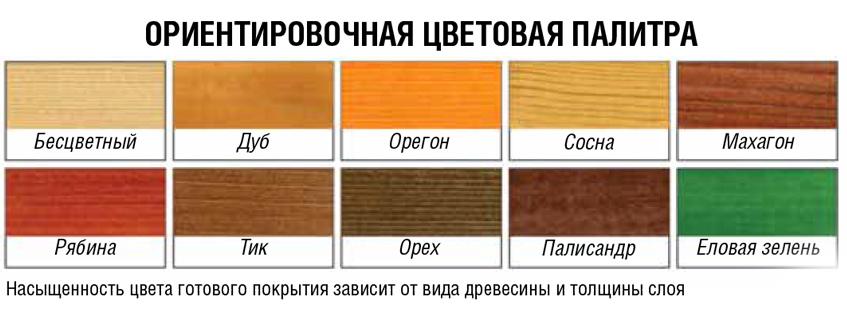 цвета здоровый дом