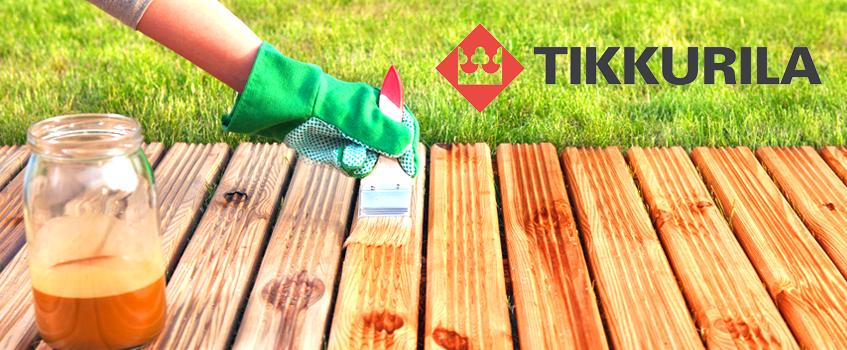Пропитка Тиккурила для дерева