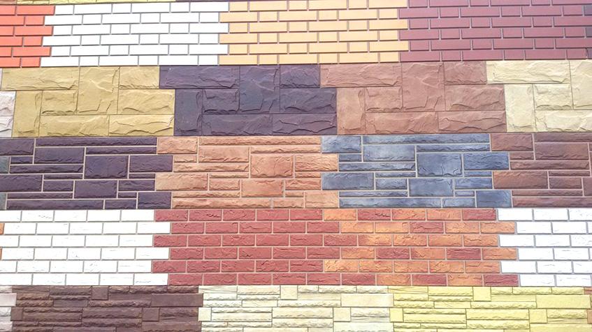 Основные разновидности фасадных панелей