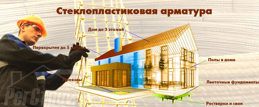 арматура стеклопластиковая Екатеринбург