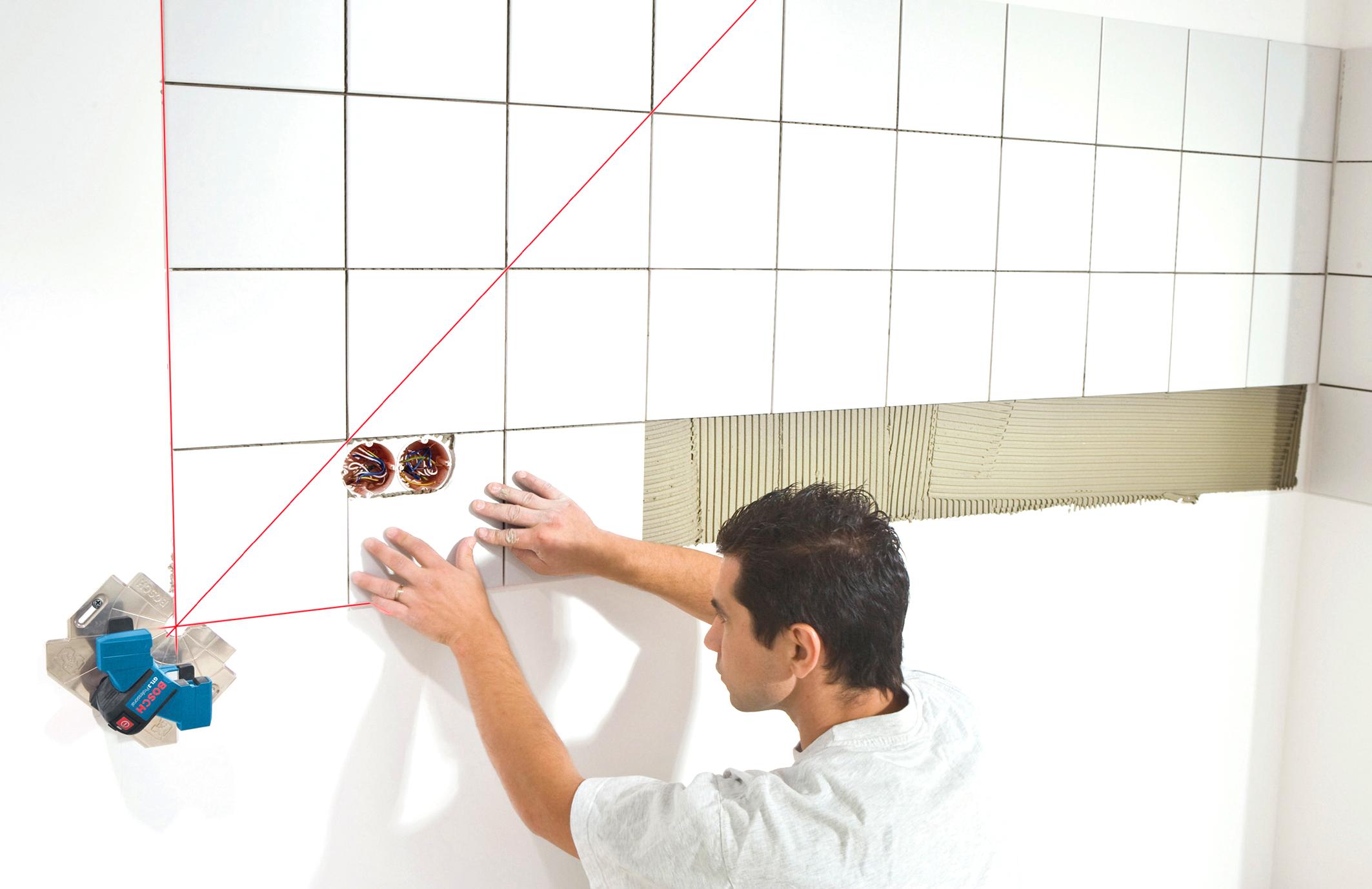 Клей для плитки применение